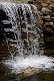 Waterfall. The waterfalls in the gardens Stock Photography