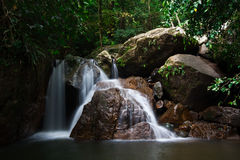 Waterfall. In Thailand national park image Royalty Free Stock Photos