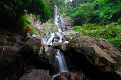 Waterfall. In Thailand national park image Stock Photography