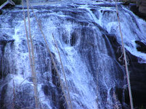 Waterfall. One of the many waterfalls in Yellowstone National Park royalty free stock photo