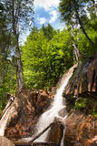 Waterfall. Near Mont Tremblant, Quebec, Canada Stock Image