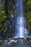Waterfall. Steep waterfall into rocky waters below Royalty Free Stock Images
