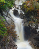 Waterfall. Falls of Bruar, Highlands of Scotland Royalty Free Stock Images