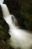 Waterfall. Motion blurred waterfall above Craflwyn in Wales Royalty Free Stock Photography
