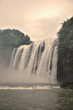 Waterfall. This photo was taken in Huangguoshu Waterfall in Guizhou, China Stock Images