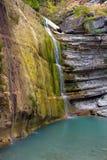 Waterfall. On the Pshada river in Krasnodar region Stock Image