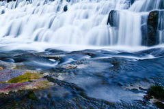 Waterfall. A waterfall on pertes de la Valserine, France Royalty Free Stock Photography