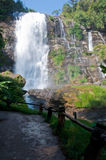 Waterfall. The waterfall from Doi Inthanon - Chiangmai , Thailand Royalty Free Stock Photo