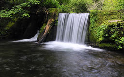 Waterfall. Waterfall water in the river of silk Stock Images
