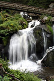 Waterfall 2. Waterfall in the Black Forest, Germany royalty free stock photo
