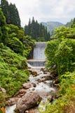 Waterfall. In Japan, Toyamaken, Kurobe Royalty Free Stock Photography