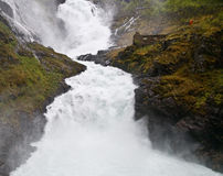 The Waterfall Royalty Free Stock Photos