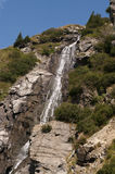 Waterfall. View of Waterfall, Apuseni mountains Stock Photo