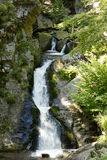 Waterfall. On the mountain river Royalty Free Stock Photos
