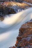 Waterfall. In morning during fall Royalty Free Stock Image