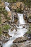 Waterfall. A tall rocky waterfall Stock Photo
