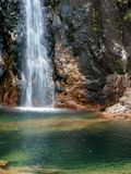 Waterfall. In Portuguese Natural Park Royalty Free Stock Photos