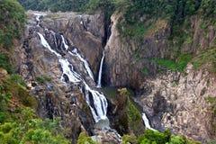 Waterfall. Scenic Waterfall in Cairns, Australia Stock Photos