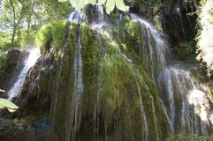 Waterfall. Big waterfall at natural park in Spain Royalty Free Stock Photo