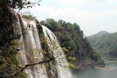 Waterfall. The Huangguoshu waterfall in china Royalty Free Stock Photos