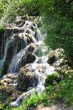 Waterfall. Shot at slow shutter speed Stock Photo