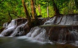 Waterfall. Thailand Huai Mae Khamin Kanchanaburi Srisawad The Srinakarin Dam Royalty Free Stock Image