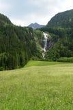 Waterfall. A nice waterfall in Tirol Austria Royalty Free Stock Photo