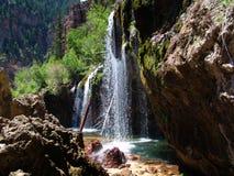 Waterfall. USA stock image