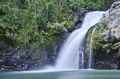 Waterfall. In natural park,Thailand Royalty Free Stock Photography