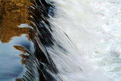 Waterfall. Stream Royalty Free Stock Image