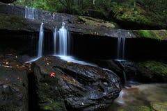 Waterfall. Phukradueng National Park of Thailand Stock Images