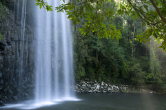 Waterfall. Milla Milla Falls, Atherton Tablelands near Cairns, Queensland, Australia royalty free stock photography