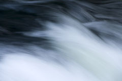 Waterfall. Pure waterfall white background movement Stock Photos
