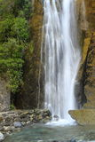 Waterfall. Beautiful waterfall in the forest in Westland Tai Poutini National Park, South Island, New Zealand Royalty Free Stock Image