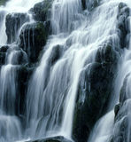 Waterfall. Waterfall vertical image ,taken on the isle o skye Scotland near old man of storr