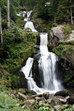 Waterfall 3. Waterfall in the Black Forest, Germany stock photography