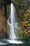 Waterfall. Big waterfall Stock Image