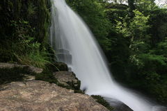 Waterfall. In Wales Royalty Free Stock Photography