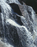 Waterfall. Water background Stock Image
