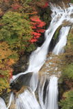 Waterfall. A view of a Japanese waterfall Stock Images