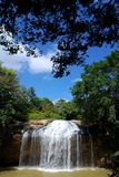 Waterfall. In Dalat (South Vietnam Royalty Free Stock Photo