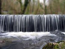 Waterfall. Slow sfutter speed waterfall royalty free stock image