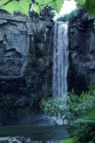 Waterfall. A large waterfall located at the bottom of a creek Royalty Free Stock Photography