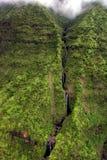 Waterfall. In Hawaii Stock Photos