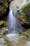 Waterfall. Ukraine, Crimea, waterfall  red caves, su-uchhan Royalty Free Stock Photo