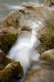Waterfall 5. Waterfall on the south of montenegro Stock Photos
