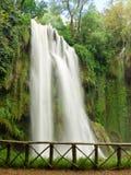 Waterfall. Nice waterfall at Monasterio de Piedra, Spain Stock Photo