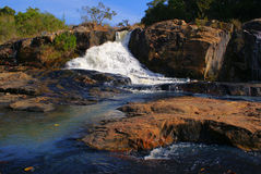 Waterfall. On Letaba River, South Africa, Limpopo Royalty Free Stock Images
