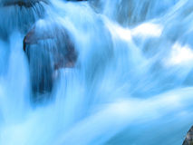Waterfall. In Glacial national park in Montana royalty free stock images