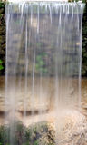 Waterfall. In a park stock photos